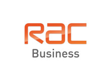 RAC Business logo on white background