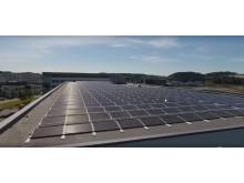 Solcelleanlegg på Norengros Kjosavik, Forus