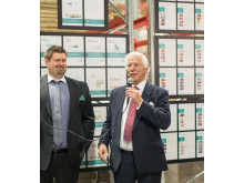 Invigning Askersund Jan G. Smith och Fredrik Stenbäcker