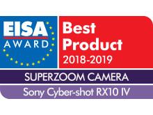 EISA Award Logo Sony Cyber-shot RX10 IV