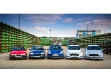 Ford Fiesta fylder 40 år!