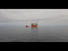 'Esvagt Dana' ved Goliat i Barentshavet