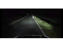Ford Focus adaptiva ljussystem använder kameror för att läsa av vägmarkeringar och skyltar