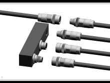 Innovativt push-pull standard M12 stik – på tværs af producent