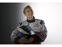 Tina Thörner deltar i Oresund Electric Car Rally 2012