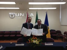 Northumbria builds academic links to Mexico