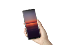 Xperia 5 II_in-hand_viewing_one_hand