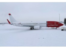 Norwegian's LN-NIJ at Oslo Airport