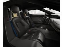 Nye Ford GT, interiørbilde