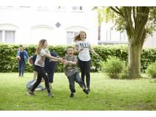 Gemeinsame Bewegung und viel Spaß im SOS-Kinderdorf Wilhelmshaven.