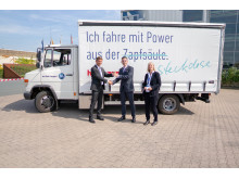 vehicle hand-over eTransport at Hellmann Worldwide Logistics