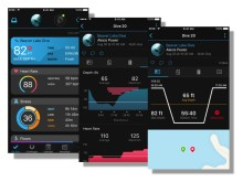Garmin Connect Mobile App Tauchscreens