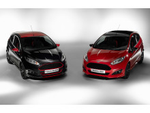Ford lanserer Fiesta Red and Black Edition med prisbelønt 1.0-liters EcoBoostmotor