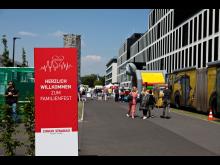 STRABAG, Einweihung Konzernhaus SIEGI.241, Köln