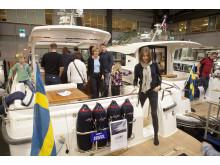 Folkvimmel på Båtmässan 2015