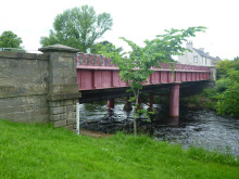 The old Lossie Wynd bridge