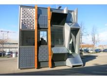 ZT Musterfassade Photovoltaik