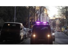 Selvkjørende bil lys kommunikasjon Ford 2019
