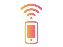 Wifi-samtal icon