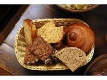 """Brot als  Beilage des Luther-Menüs im Gasthaus """"Barthels Hof"""""""
