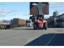 Green Cargo och Volvo Cars utförde ett tufft uppdrag