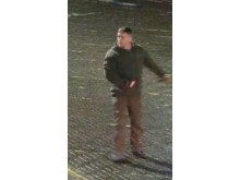 CCTV images of an individual officers would like to speak to in relation to an affray in Milton Keynes