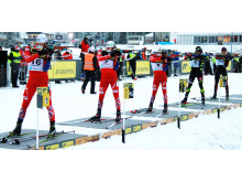 Sesongstart Skiskyting menn fellesstart