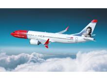 Rodríguez de la Fuente Boeing 737 MAX 8 - renderizado completo