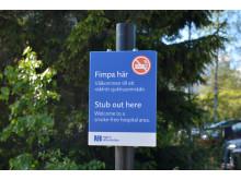 Rökfria utomhusmiljöer i Region Västerbotten