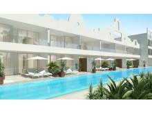 Spies ejer eller driver selv 20 af de 60 hoteller, som kan tilbyde Swim Out eller privat pool. Et af dem er nyheden Ocean Beach Club, som ligger i Playa del Cura på Gran Canaria.