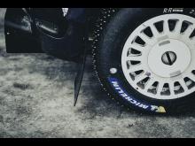 Arbeskos skyddsskor nu med rallydäck från Michelin