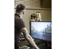 Lysbuehendelse i VR