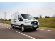 Ford E-Transit kunde testprosjekt 2021