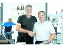 Jürgen Hingsen und FPZ Geschäftsführer Dr. Frank Schifferdecker-Hoch