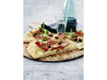 Potatispizza - både krispigt och gott