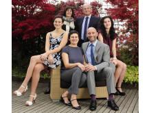 Die Gastgeber Familie Nischler im DolceVita Hotel Lindenhof in Naturns