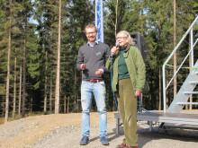 Invigning vindkraft Össjö 4