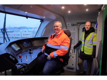 Bengt Fors VD Green Cargo Norge & Godsdirektör på Bane NOR, Oskar Stenstrøm
