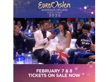 Måns Zelmerlöw - Dami In - Eurovision Australia Decides