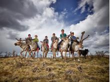 Reindeer farmer kids, fot. Peter Voss