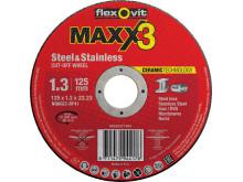 Flexovit-Maxx3-Skæreskiver -1,3mm