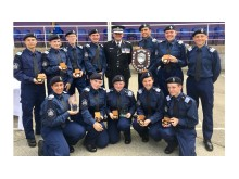 The Croydon Cadets with Assistant Commissioner Martin Hewitt