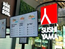 Sushi Yama i Gränbystaden