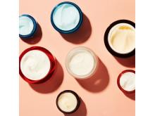 Gruppbild Moisturizers and Eye Cream