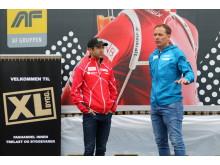 Ole Einar Bjørndalen og Per Arne Botnan