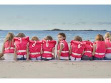 Regatta Pink Survival - rosa serie flytvästar, miljöbild