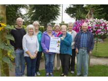 Forres in Bloom volunteers