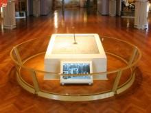 Hörnstenen med Thomas Edisons namnteckning från 1929, går i dag att titta på i The Henry Ford Museum.