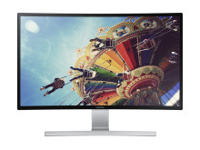 27 tommer Curved monitor
