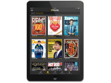 Readly on tablet (black)